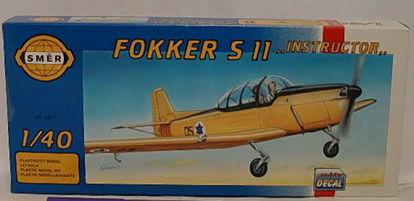 """Obrázek Stavebnice Fokker S 11 """"Instructor"""" 1:48"""