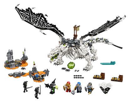 Obrázek LEGO Ninjago 71721 Drak Čaroděje lebek