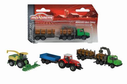 Obrázek Farmářské vozidlo kovové Farm Set, 3 druhy