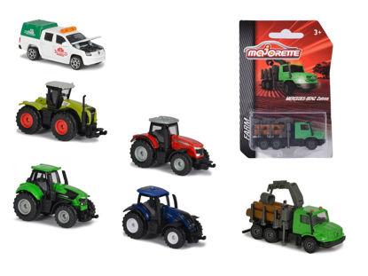 Obrázek Farmářské vozidlo kovové, 6 druhů