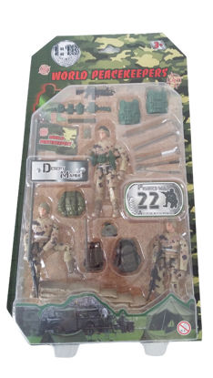 Obrázek Figurka vojáka s doplňky