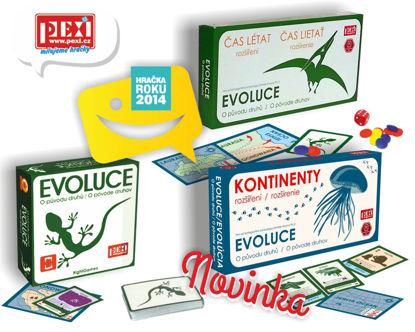Obrázek Hra EVOLUCE-trilogie