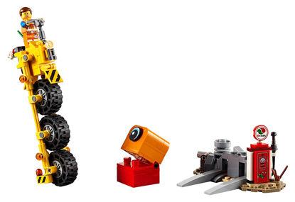 Obrázek LEGO Movie 70823 Emmetova tříkolka!