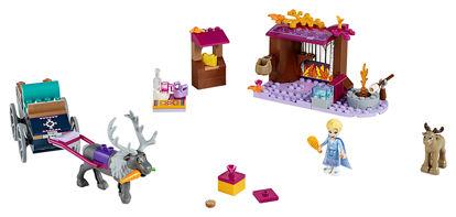 Obrázek LEGO Disney Princess 41166 Elsa a dobrodružství s povozem