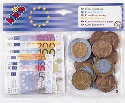Obrázek Dětské Euro bankovky a mince