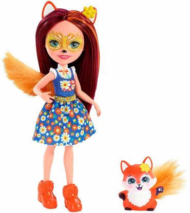Obrázek ENCHANTIMALS panenka se zvířátkem