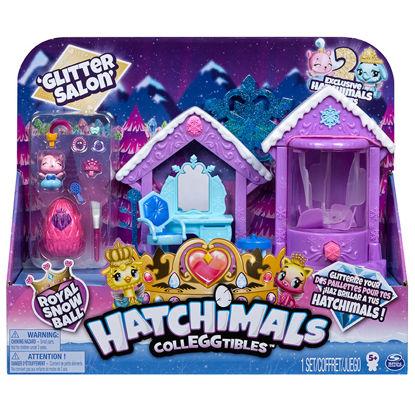 Obrázek HATCHIMALS Třpytivý královský salon