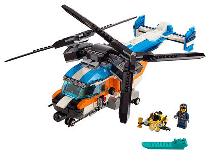 Obrázek LEGO Creator 31096 Helikoptéra se dvěma rotory