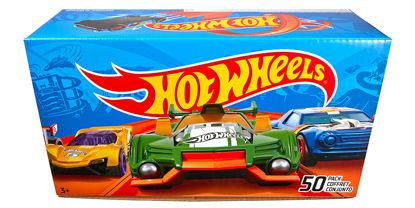 Obrázek Hot Wheels 50 kusů autíček