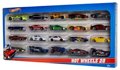 Obrázek Hot Wheels 20 kusů angličáků