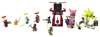 Obrázek LEGO Ninjago 71708 Hráčská burza