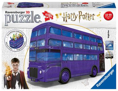 Obrázek 3D Puzzle Harry Potter Rytířský autobus