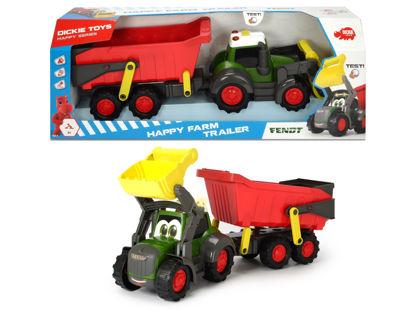 Obrázek Happy Traktor s přívěsem