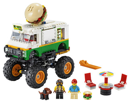 Obrázek LEGO Creator 31104 Hamburgerový monster truck