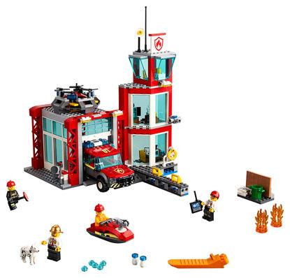 Obrázek LEGO City 60215 Hasičská stanice