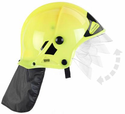 Obrázek Dětská hasičská helma, žlutá