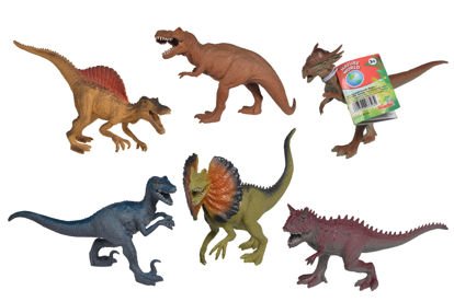 Obrázek Gumový dinosaurus 17-22cm