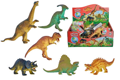 Obrázek Gumový dinosaurus 11-14cm