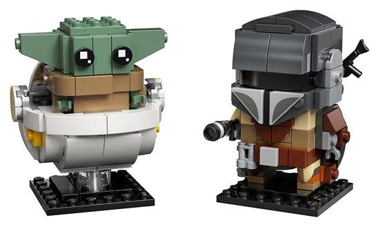 Obrázek z LEGO Star Wars 75317 Mandalorian a dítě