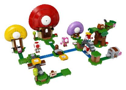 Obrázek LEGO SUPER MARIO 71368 Toadův lov pokladů – rozšiřující set
