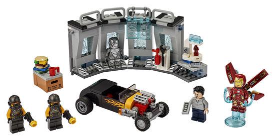 Obrázek z LEGO Super Heroes 76167 Zbrojnice Iron Mana