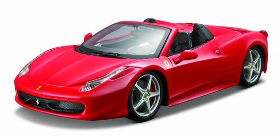 Obrázek z Bburago 1:24 Ferrari 458 Spider Red