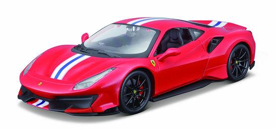 Obrázek z Bburago 1:24 Ferrari  TOP 488 Pista (red)
