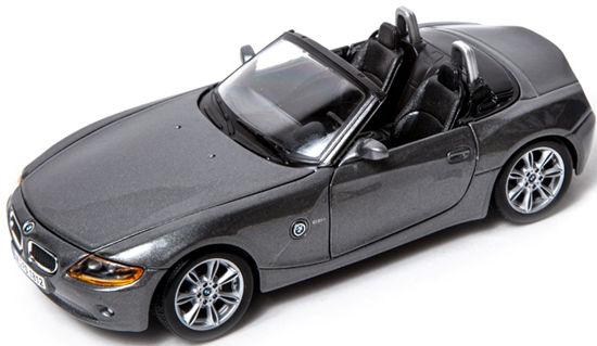Obrázek z Bburago 1:24 BMW Z4 Metalic Grey