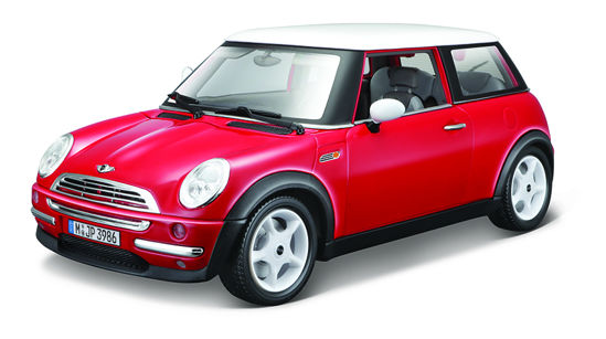 Obrázek z Bburago 1:18 Mini Cooper (2001) Red