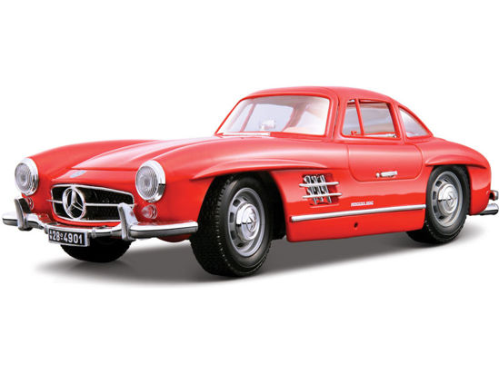 Obrázek z Bburago 1:18 Mercedes-Benz 300 SL(1954) Red