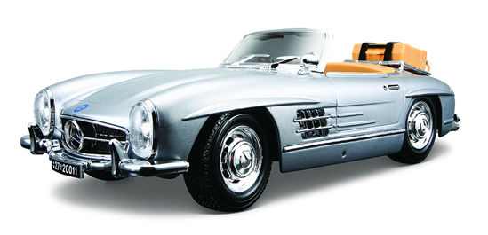 Obrázek z Bburago 1:18 Mercedes Benz 300 SL Touring (1957) Silver