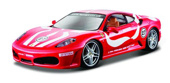 Obrázek z Bburago 1:24 Ferrari F430 Fiorano Red