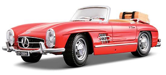 Obrázek z Bburago 1:18 Mercedes Benz 300 SL Touring (1957) Red