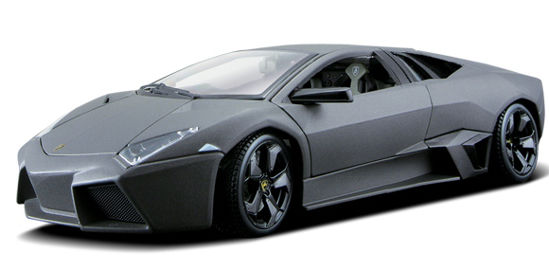 Obrázek z Bburago 1:24 Plus Lamborghini Reventón Metallic Grey