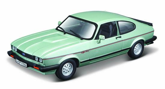 Obrázek z Bburago 1:24 Plus Ford Capri 1982 light green