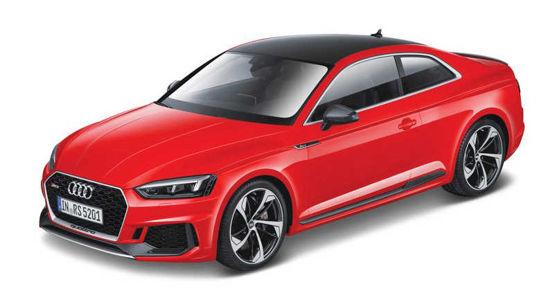Obrázek z Bburago 1:24 Plus Audi RS 5 Coupe Red