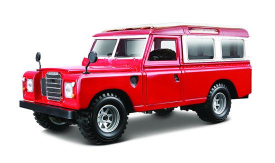 Obrázek z Bburago 1:24 Land Rover Red