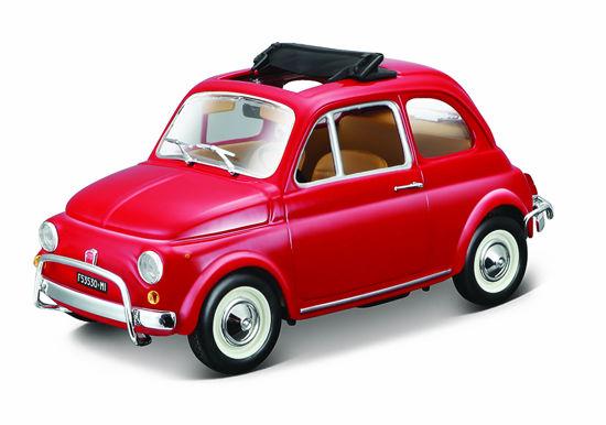 Obrázek z Bburago 1:24 Fiat 500L (1968) Red