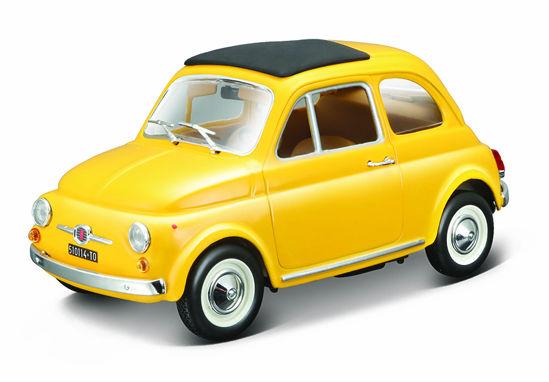 Obrázek z Bburago 1:24 Fiat 500 F 1965 Yellow