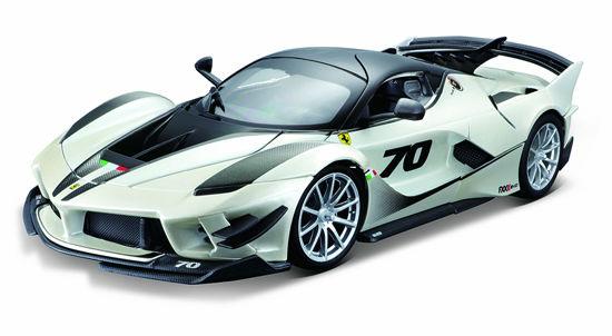 Obrázek z Bburago 1:18 Ferrari TOP  FXX-K EVO No.70 (white/black)