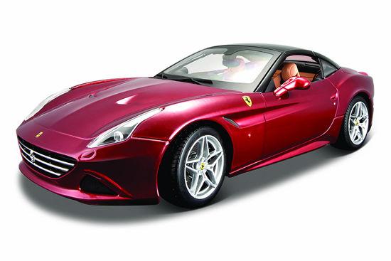 Obrázek z Bburago 1:18 Ferrari Signature series California (Closed Top) Metallic Red