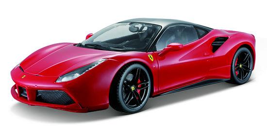 Obrázek z Bburago 1:18 Ferrari Signature series 488 GTB Red