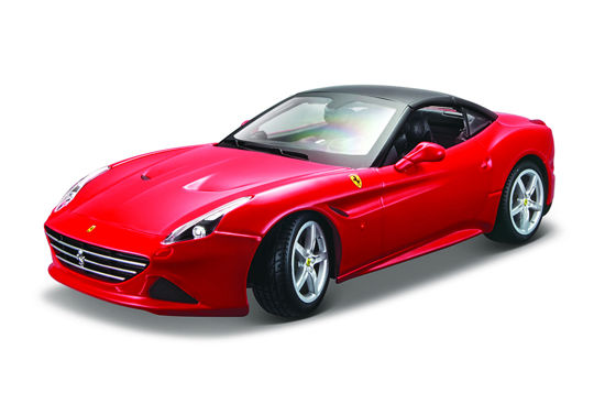 Obrázek z Bburago 1:18 Ferrari California T closed top Red