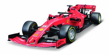 Obrázek Bburago 1:18 Ferrari  Racing F1 2019 SF90 Sebastian Vettel