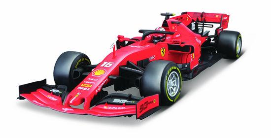 Obrázek z Bburago 1:18 Ferrari  Racing F1 2019 SF90 LeClercl