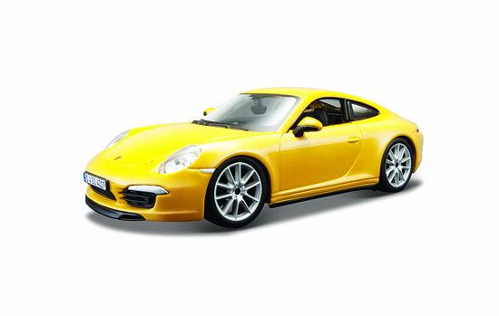 Obrázek z Bburago 1:24 Plus Porsche 911 Carrera S Yellow