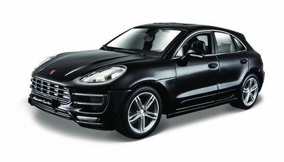 Obrázek Bburago 1:24 Plus Porsche Macan Black