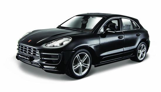 Obrázek z Bburago 1:24 Plus Porsche Macan Black