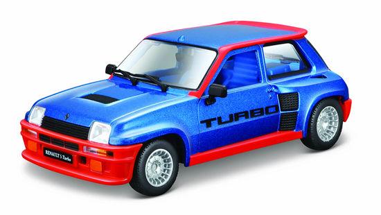 Obrázek z Bburago 1:24 Plus Renault 5 Turbo modré