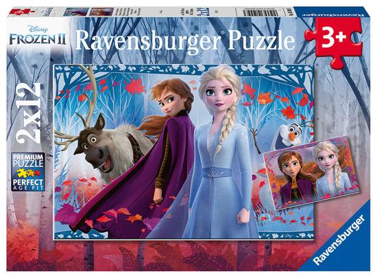 Obrázek z Disney puzzle Ledové království 2 2x12 dílků